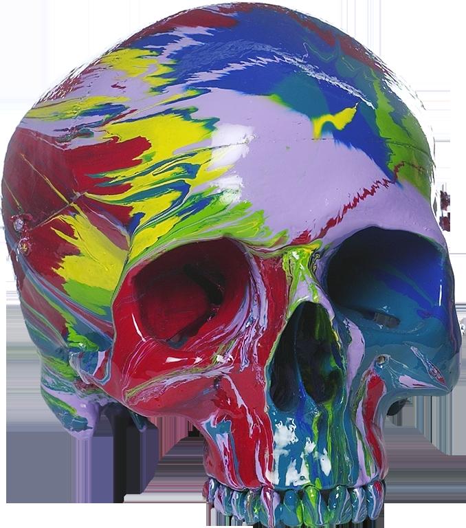 Damien Hirst, Hallucinatory Head, Auflage 50, 36.800,- BP
