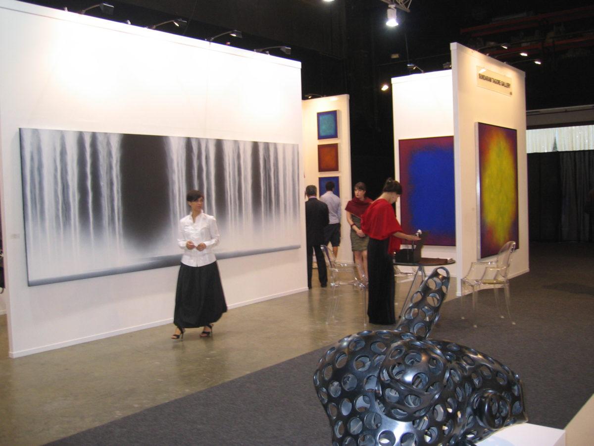 Galerie Sundaram Tagore, Art Dubai. Foto SBV