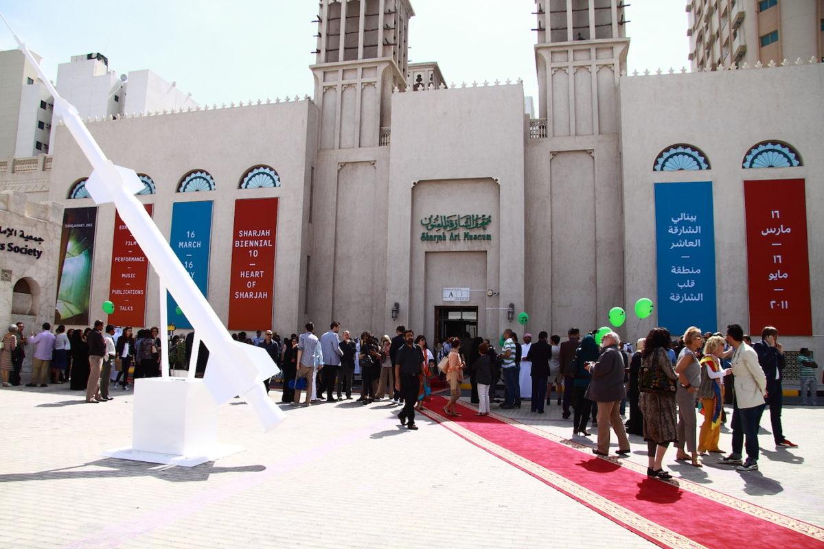 Eröffnung Sharjah Biennale 2011