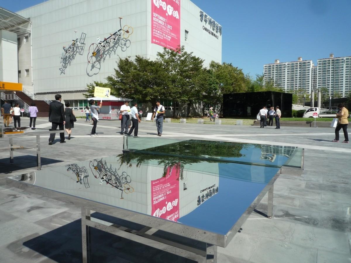 Rirkrit Tiravanija, Gwangju Biennale 2012 // SBV