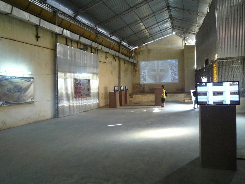Installationsansicht Ahmed Mater