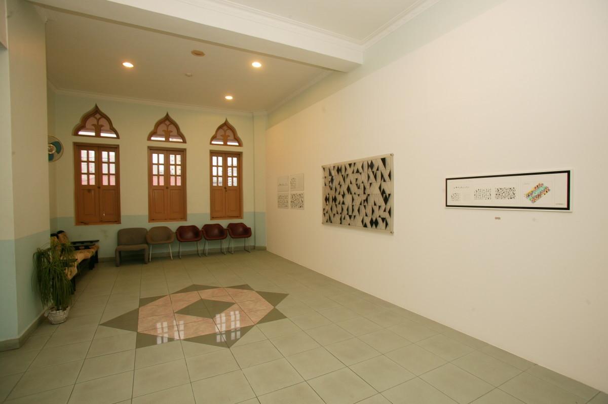 Ebtisam Abdul Aziz, Ten Triangles, c: Singapur Biennale