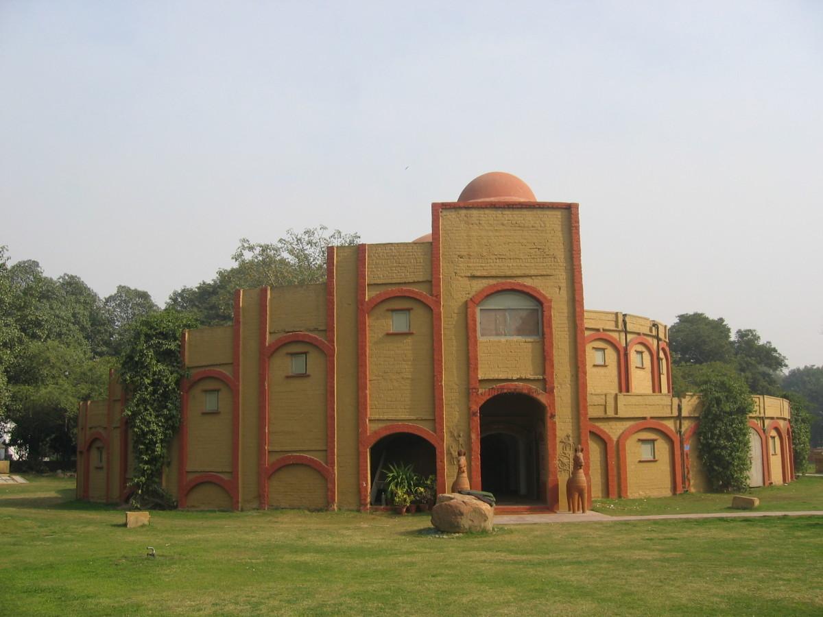 Indira Ghandi Gebäude, Neu Dehli
