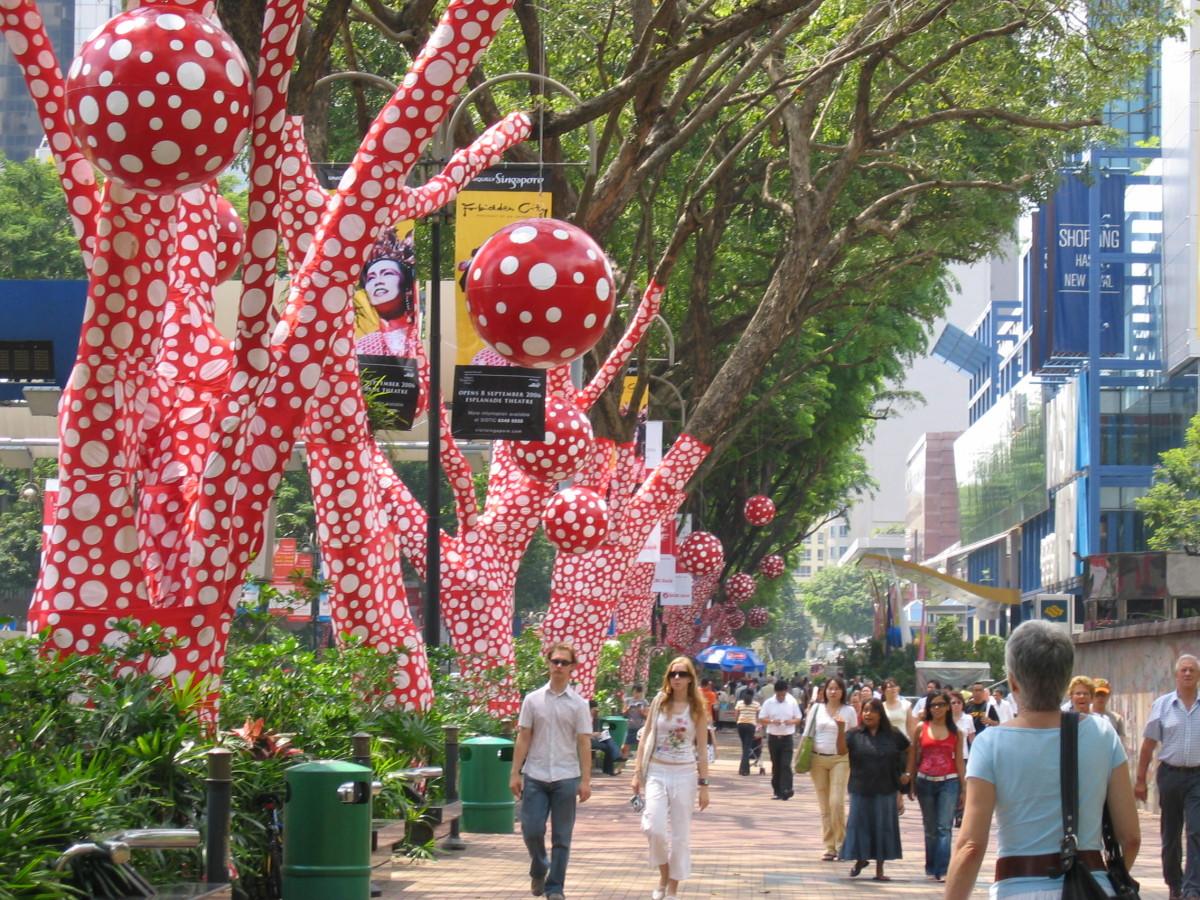 Y. Kusama, Singapur 2006