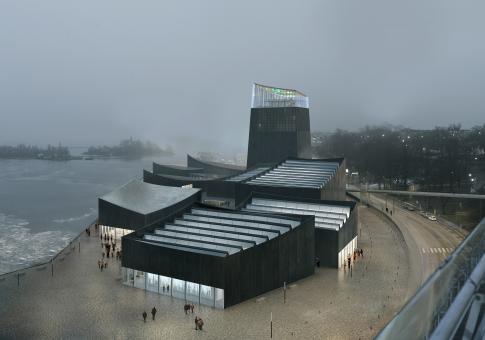 Siegerentwurf des Guggenheim Helsinki: die Pariser Architekten Moreau Kusunoki