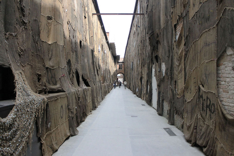 Ibrahim Mahama, 56. Biennale Venedig