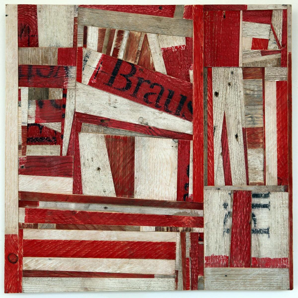 Ovidiu Anton, 130 Streifen. Christine König Galerie