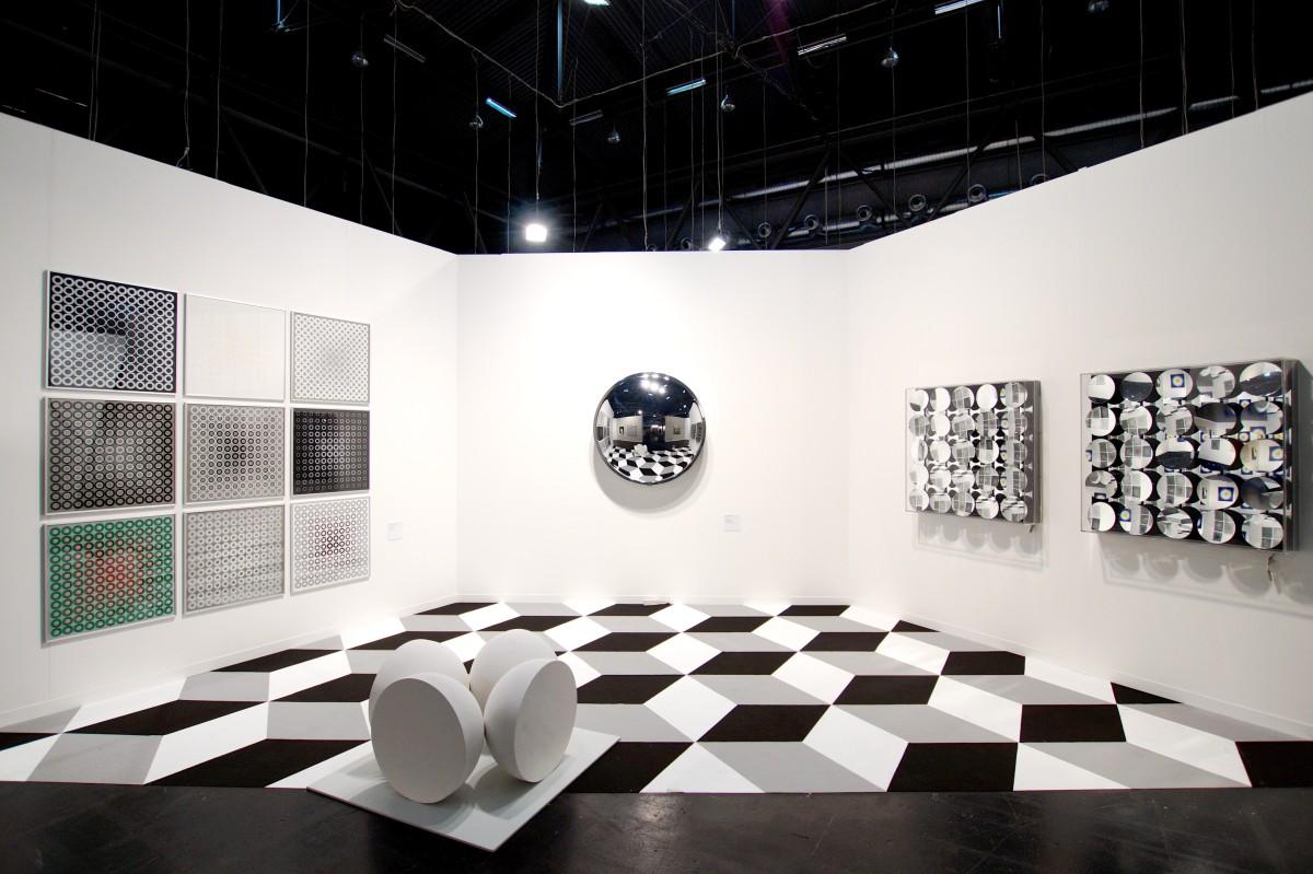 Ausstellungsansicht Kinesis, Foto S. Gutbrunner