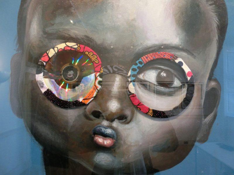 Ndidi Emefiele, Omeka Gallery, 1:54, London 2015 // SBV