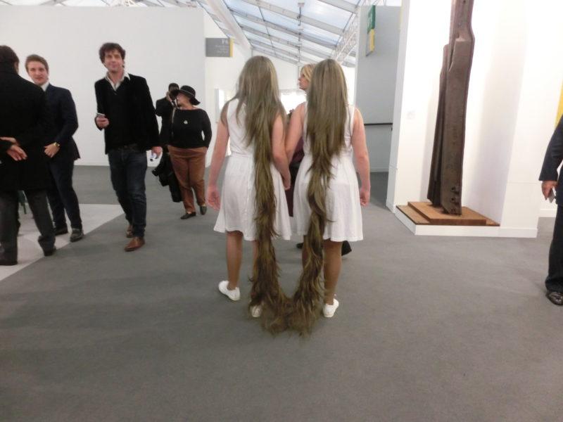 Performance Tunga, Frieze Art Fair 2015 // SBV
