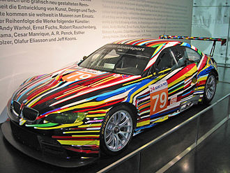 Jeff Koons BMW Art Car 2010