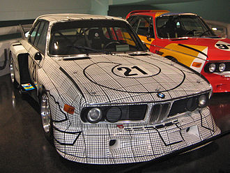 Frank Stella BMW Art Car 1976