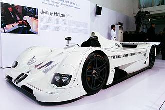 Jenny Holzer BWM Art Car 1999