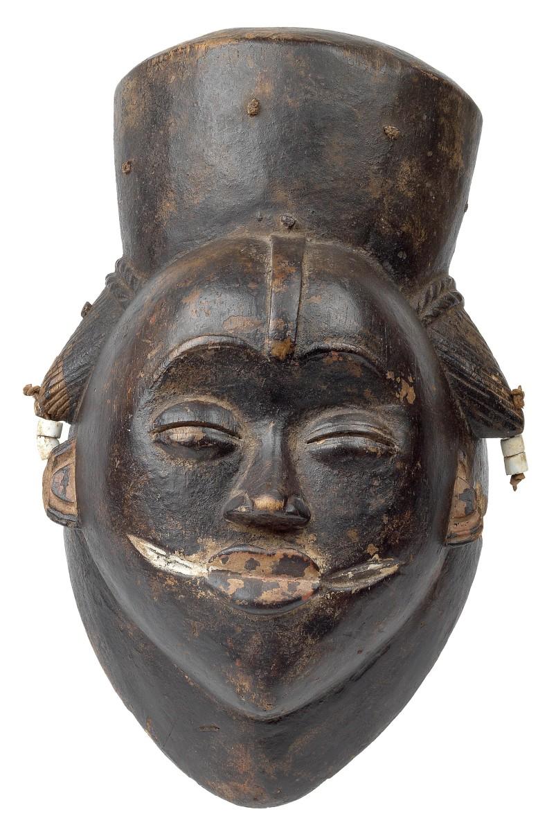 Ikwara Maske der Punu, Gabun