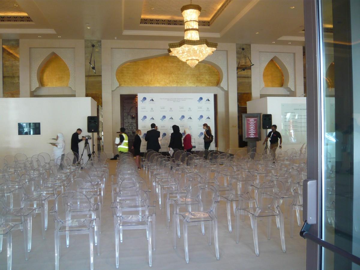 Pressekonferenz-Setting 2009 // SBV