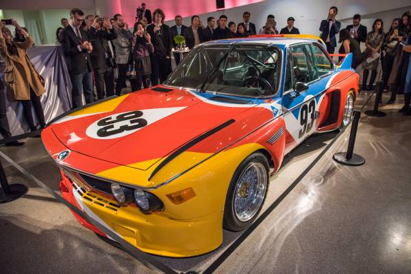 BMW Art Car, Alexander Calder