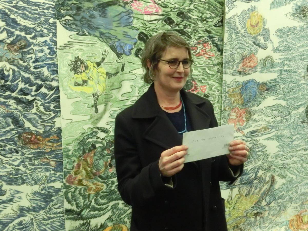 Preisträgerin 2015 Vanessa Baird