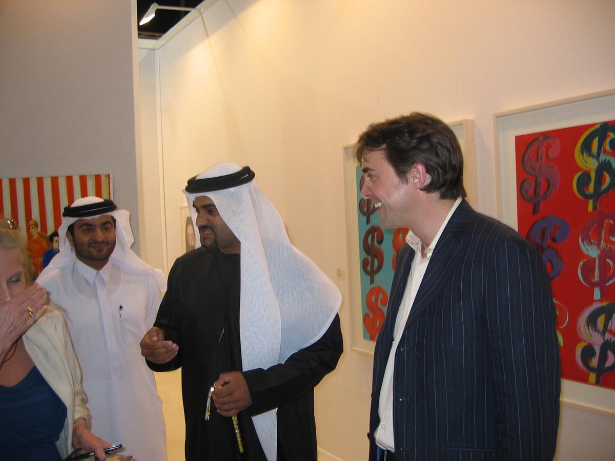 John Martin, Art Dubai 2007 // SBV