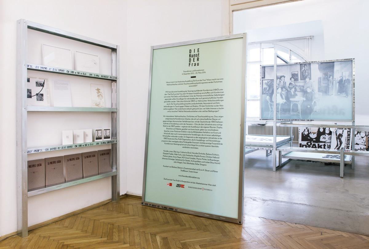 Büro Bauer, Ausstellungsgestaltung