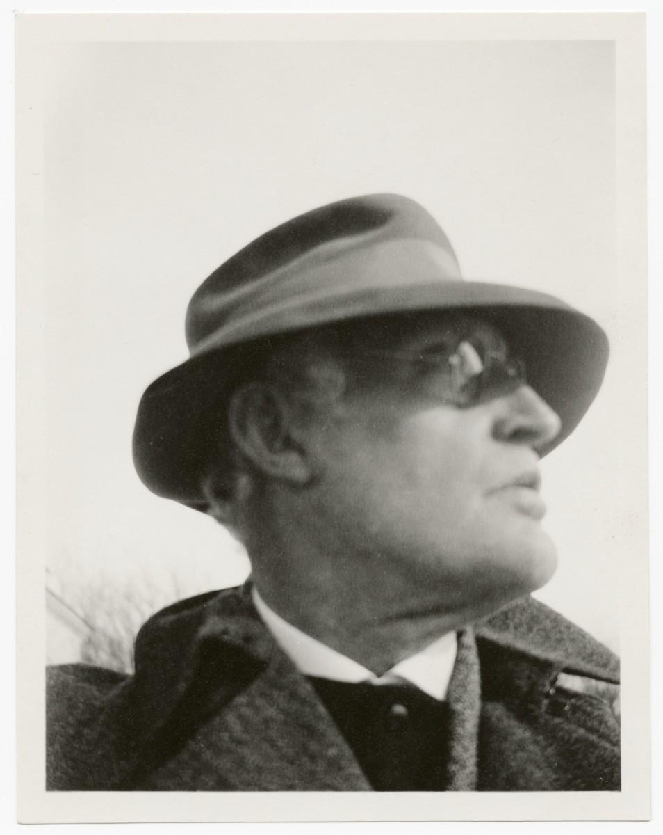 Selbstprotrait Edward Munch 1930