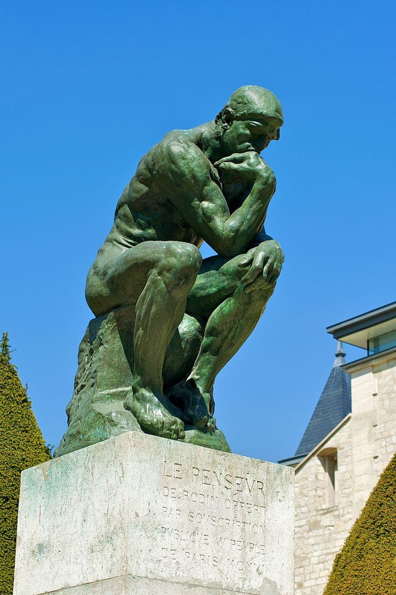 Rodin, Der Denker. c wikipedia, Daniel Stockmann