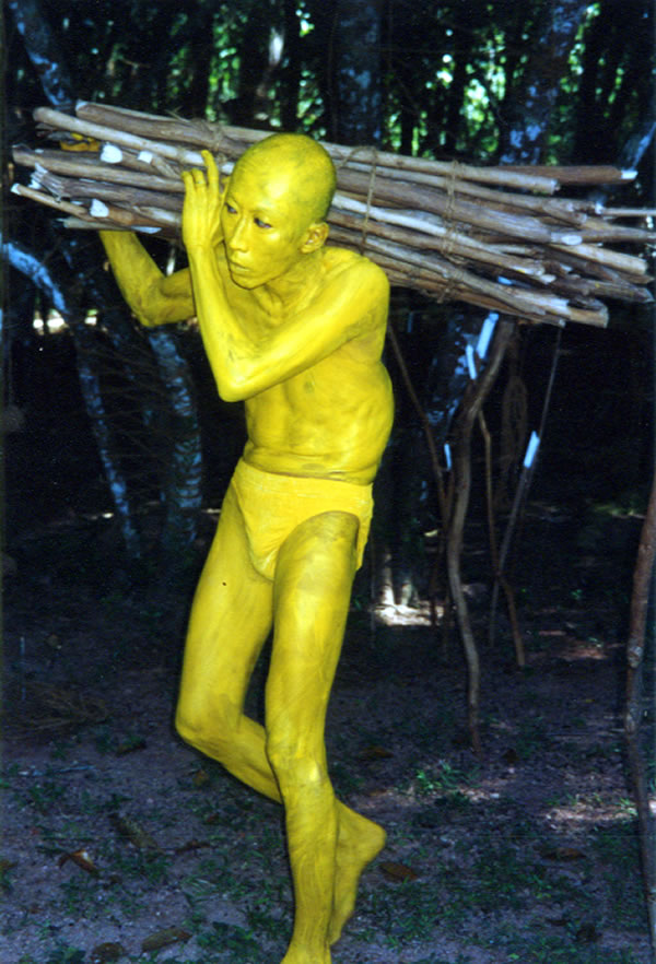 Lee Wen, The Yellow Man, 2001