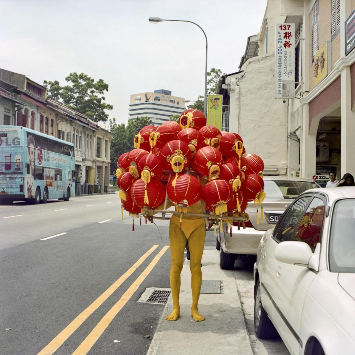 Lee Wen, Strange Fruit2, 2003