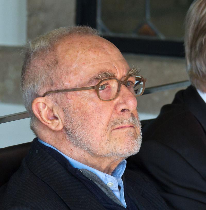 Gerhard Richter, 2014. Foto Raimond Spekking