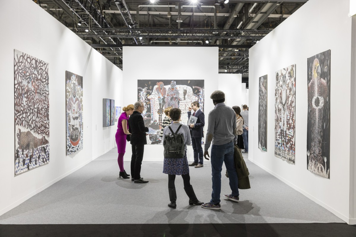 Omar Bar, Galerie ... Foto Julien Gremaud