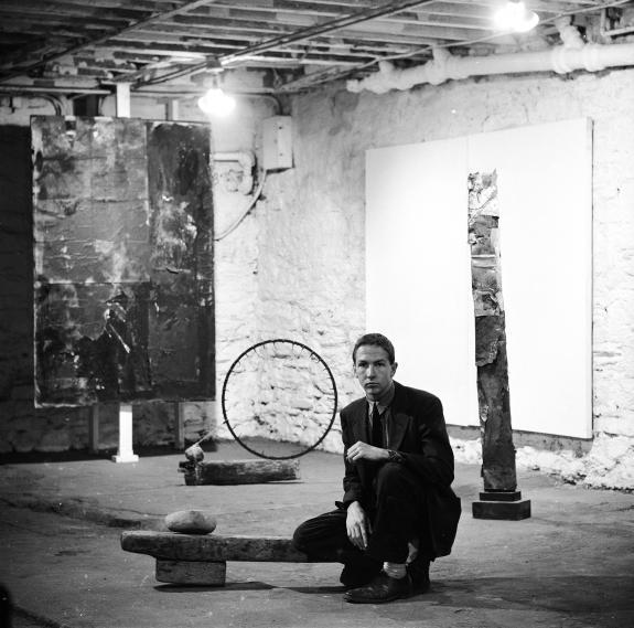 Robert Rauschenberg, Stable Gallerey 1953 // Rauschenberg Foundation
