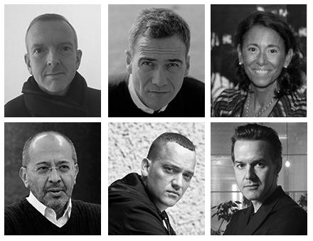Nicholas Baker, Andrea Bellini, Nathalie Mamane Cohen, Haldun Dostoğlu, Gregor Hose and Marc-Olivier Wahler.