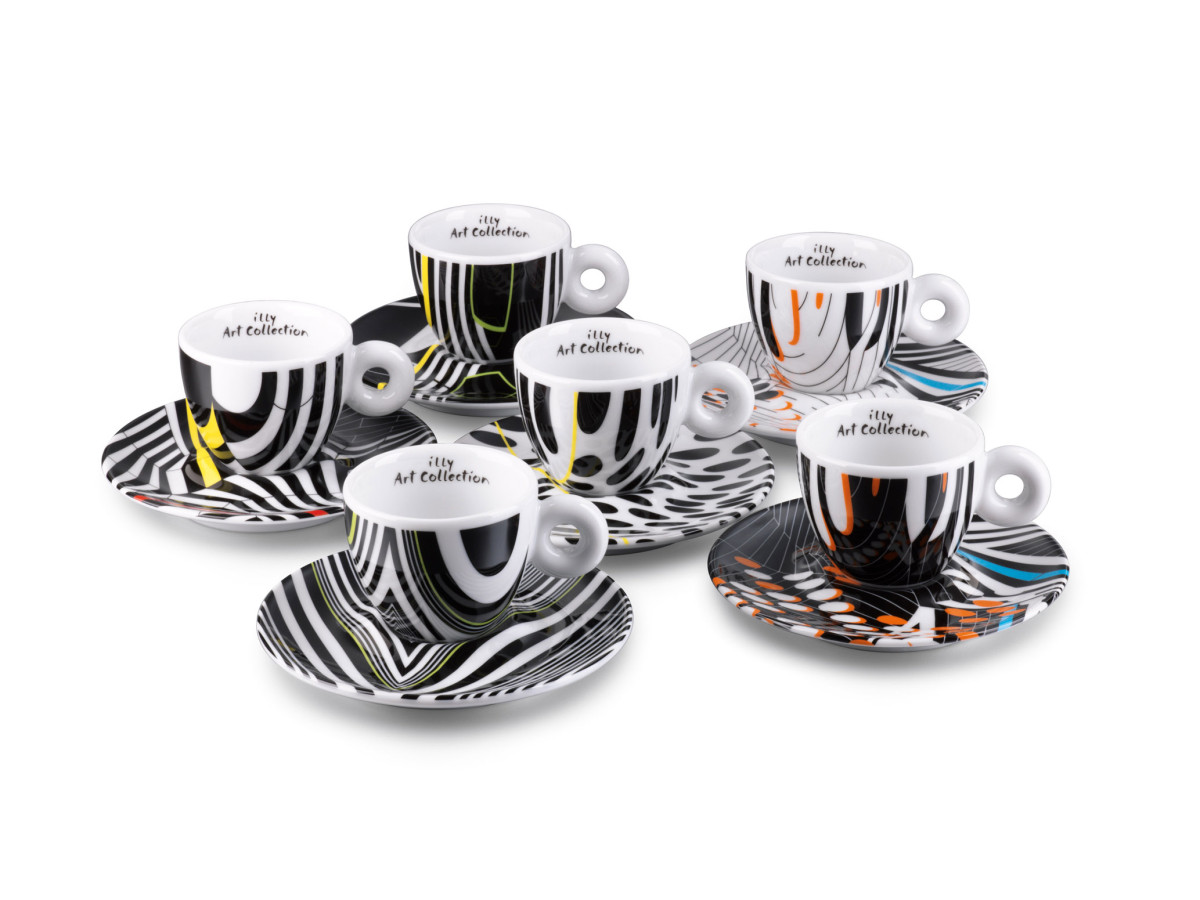 illy art collection Tobias Rehberger - espresso