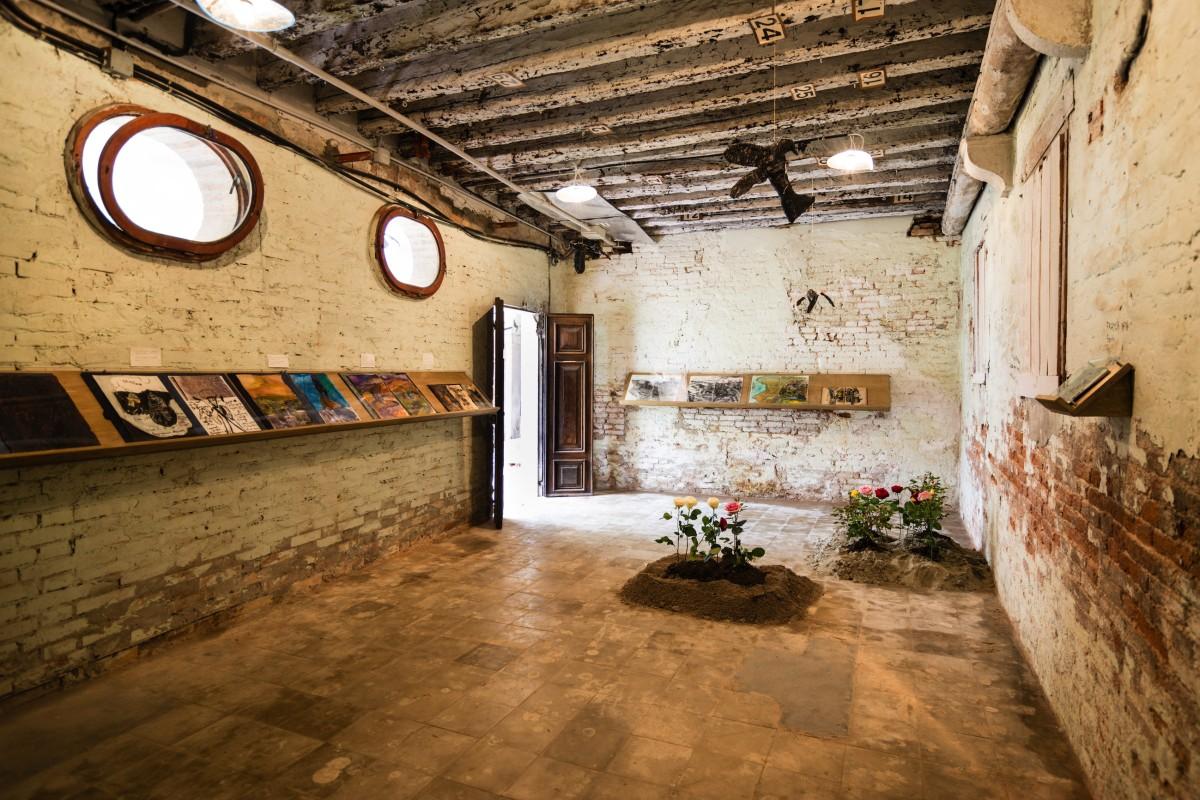 56. Biennale Venedig, Armenischer Pavillon, Anna Boghiguian, 2015