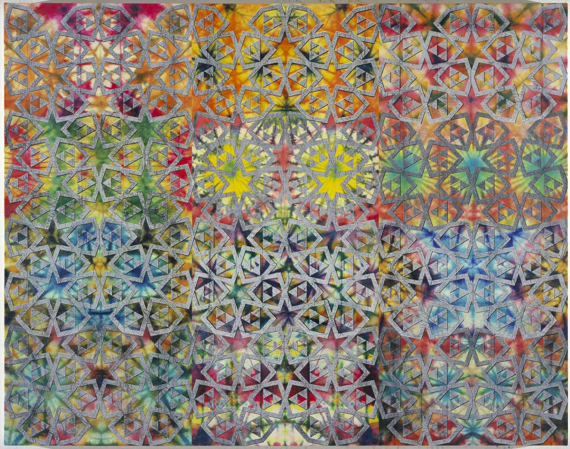 Philip Taaffe, Andalusian Panel II