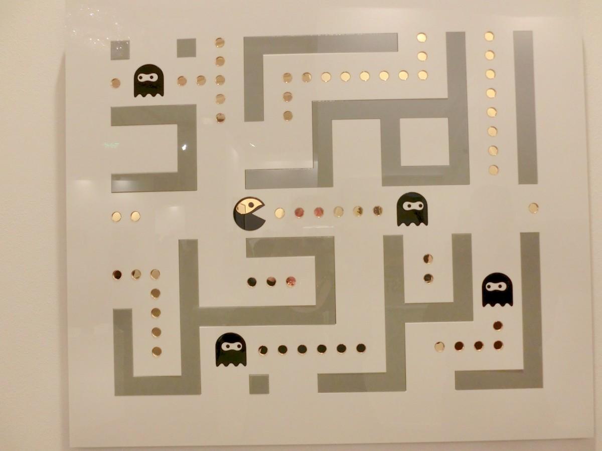 Ok Kufic Pacman. Yay Gallery, Baku