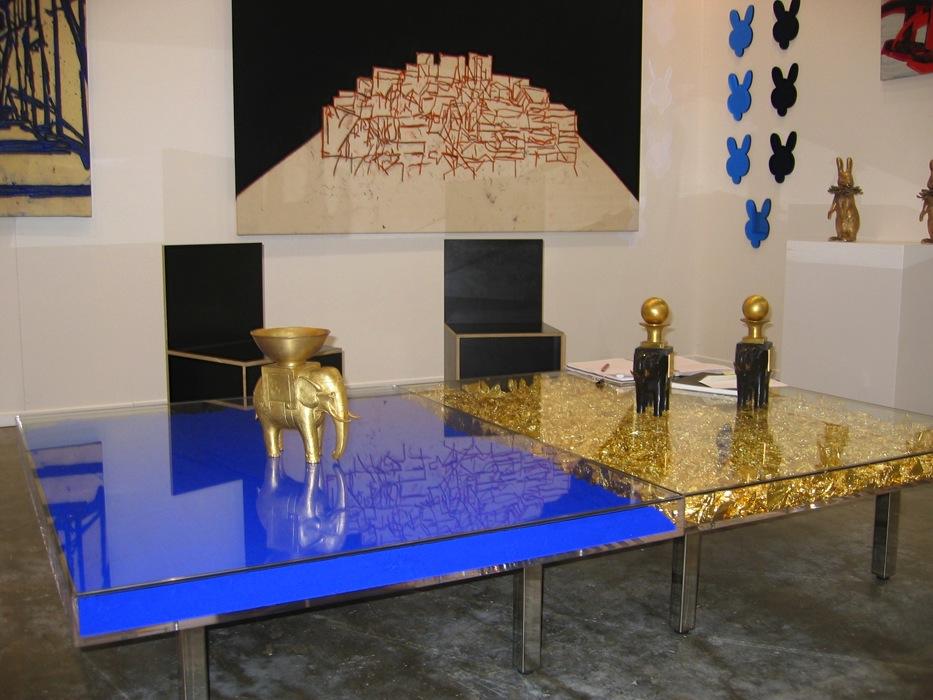 Yves Klein auf der Gulf Art Fair, die 2008 in Art Dubai umbenannt wurde