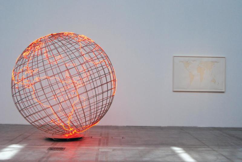Mona Hatoum, Hot Spot, 8. Sharjah Biennale 2006