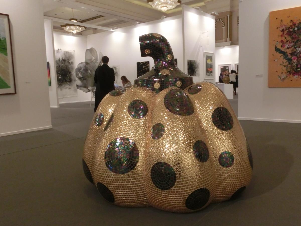 Yayoi Kurasama, Art Dubai 2016 // SBV