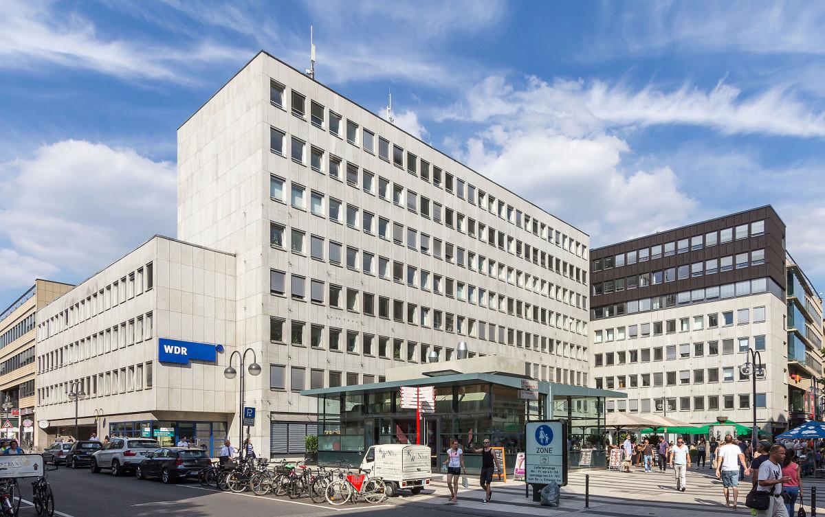 WDR Bürogebäude Haus Berlich, Köln // Foto Raimond Spekking, wikimedia