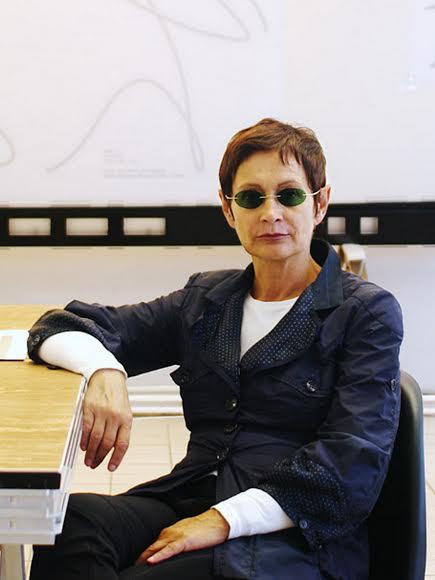 Brigitte Kowanz. Foto Kollektiv Fischka