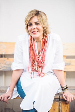 Myrna Ayad, neue Direktorin der Art Dubai. Foto Abbi Kemp