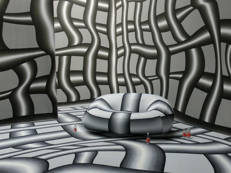 ING-Lounge, gestaltet von Peter Kogler // SBV
