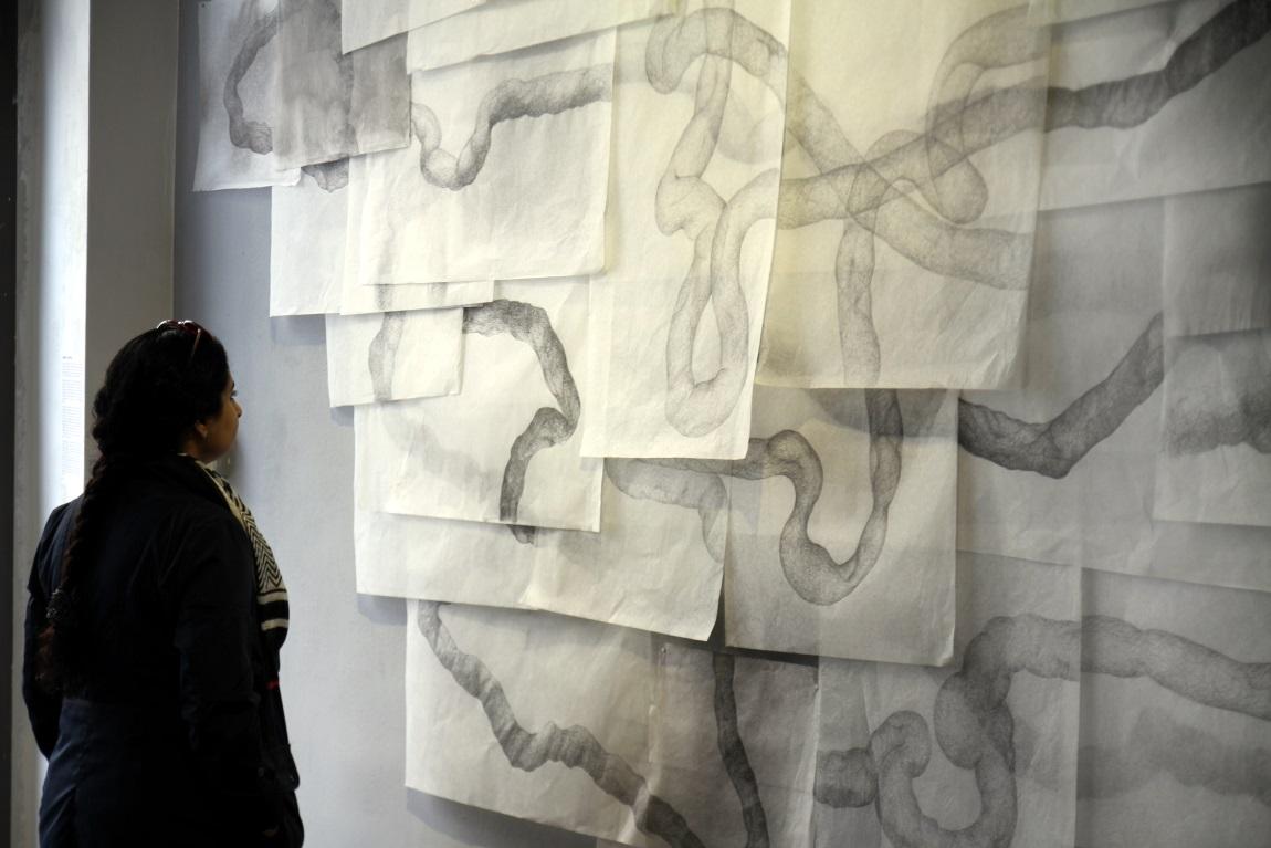 Ali Kazim. Hinterland Galerie, Wien (mit Aisha Khalid)