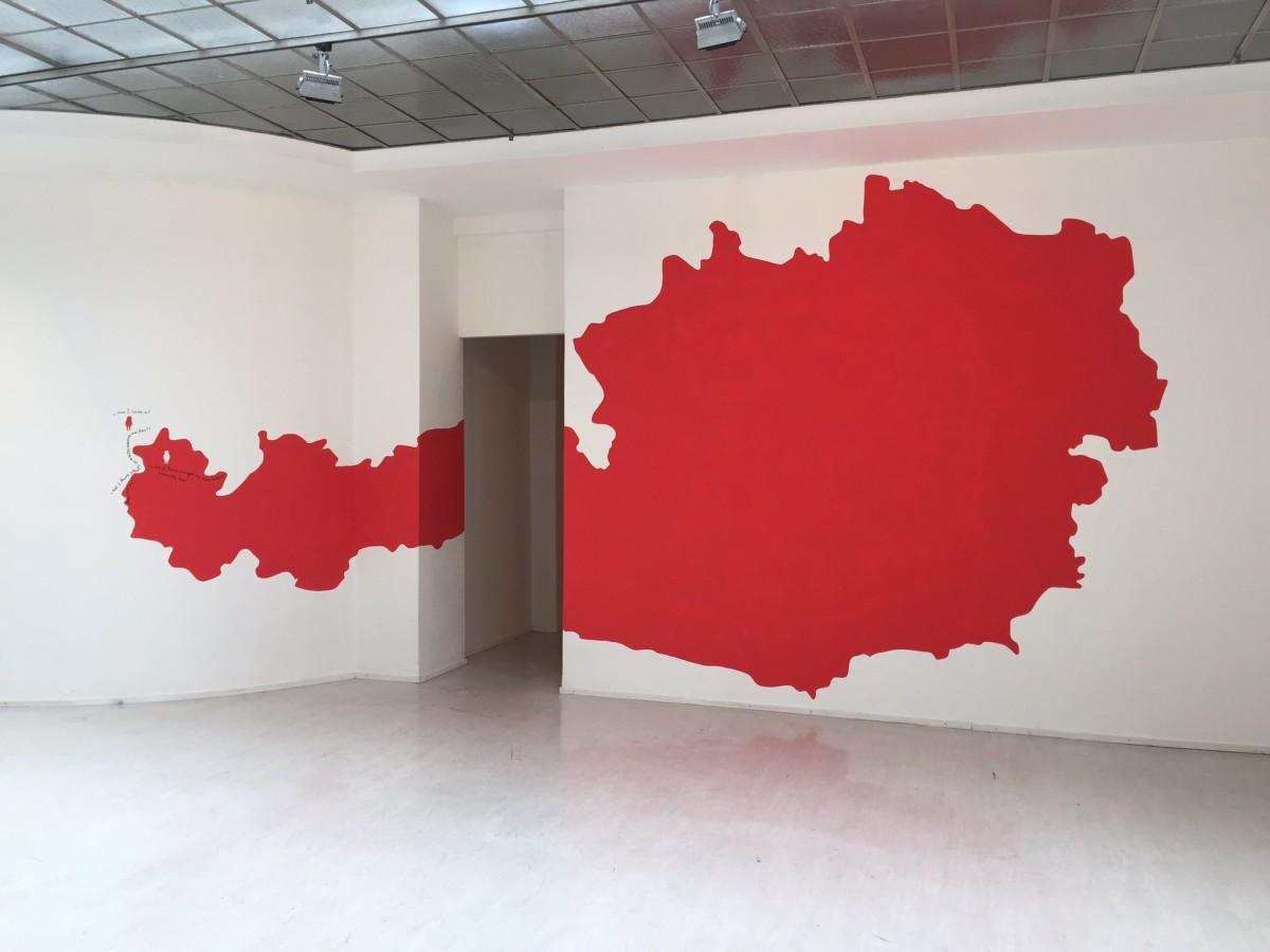 Nedko Solakov, Inside/Outside, 2016. Georg Kargl Fine Arts