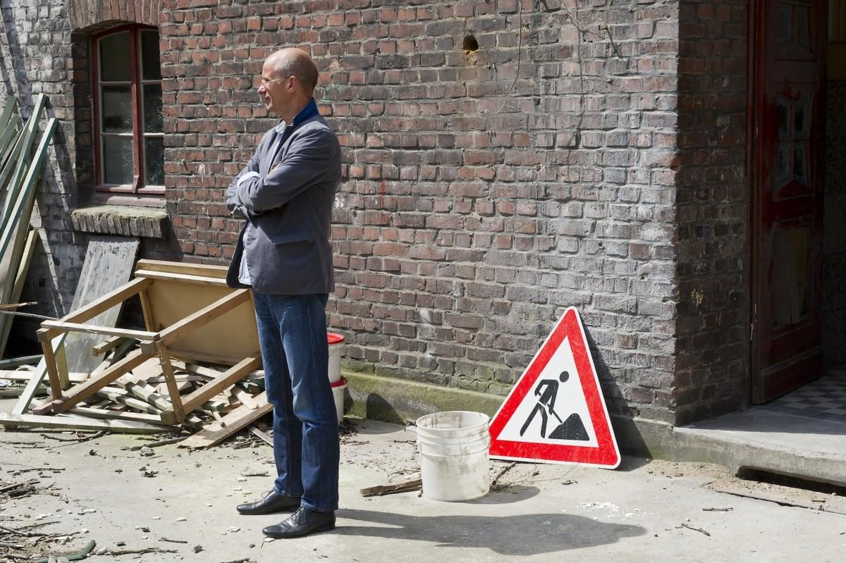Florian Matzner. Foto Thorsten Arendt, Emscherkunst