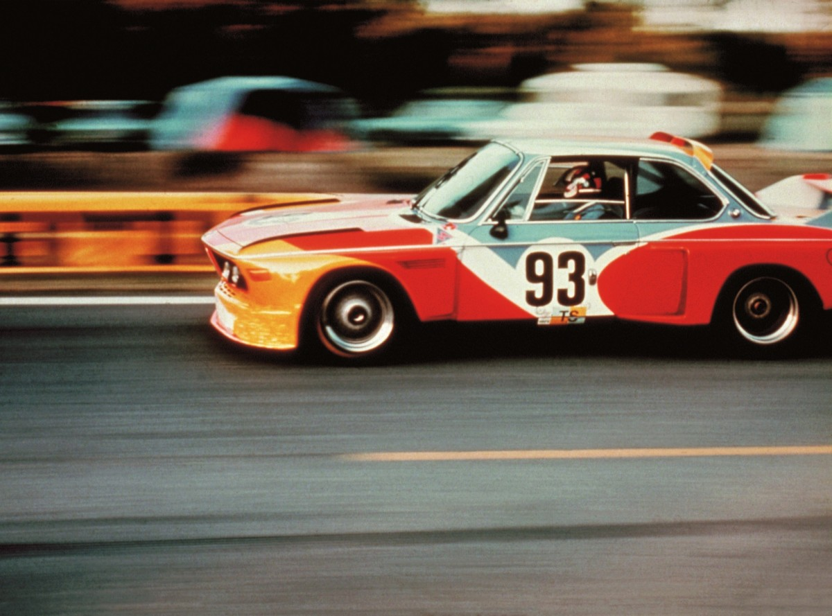 Alexander Calder, BMW Art Car, 1975 - BMW 3.0 CSL. BMW AG