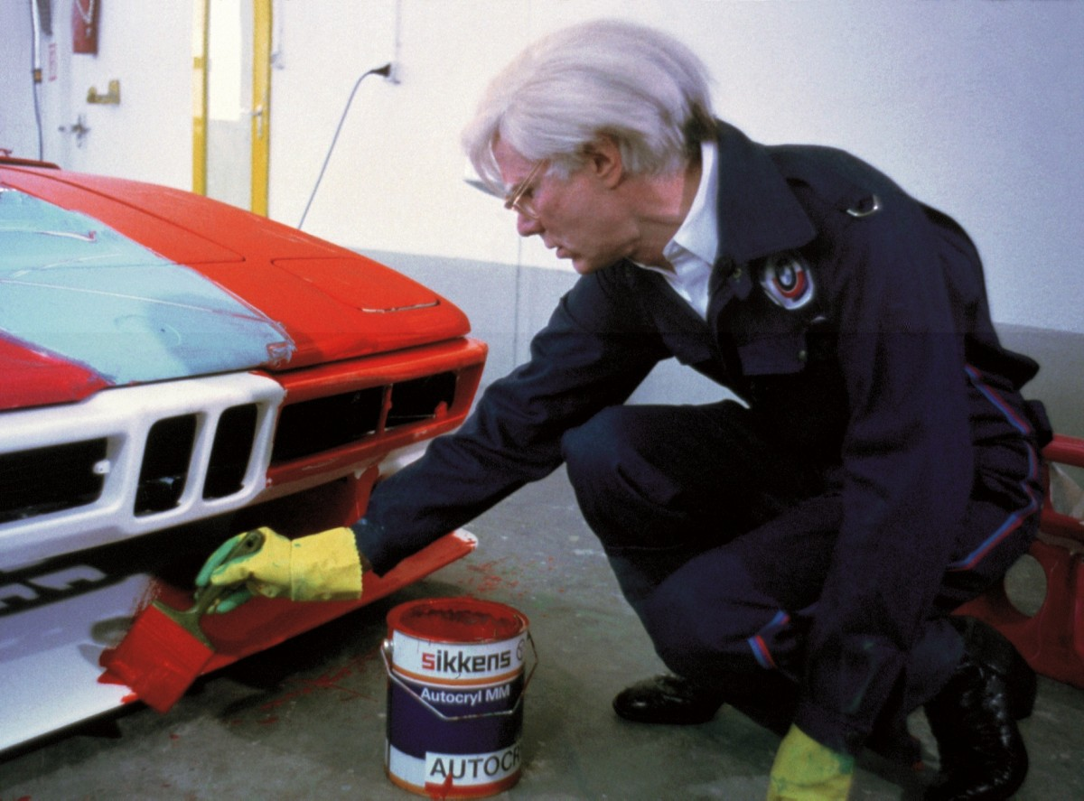 Andy Warhol, BMW Art Car, 1979 - BMW M1 Gruppe 4 Rennversion (c) BMW AG