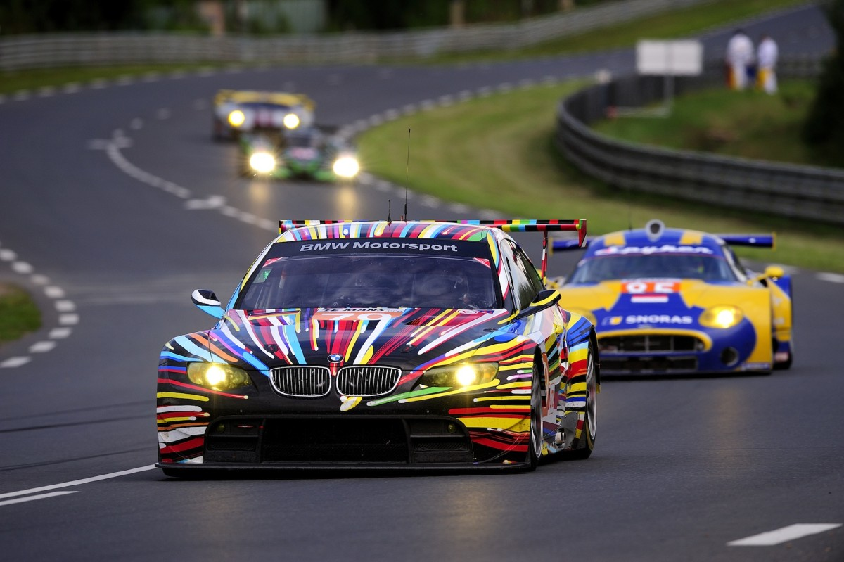 06.06.-13.06.2010 Le Mans (FR), Andy Priaulx (GB), Dirk M¸ller (DE), Dirk Werner (DE), No 79, Team BMW Motorsport, BMW M3 GT2 Art Car designed by Jeff Koons, 2010 Le Mans 24 Hours (LM24). © BMW AG