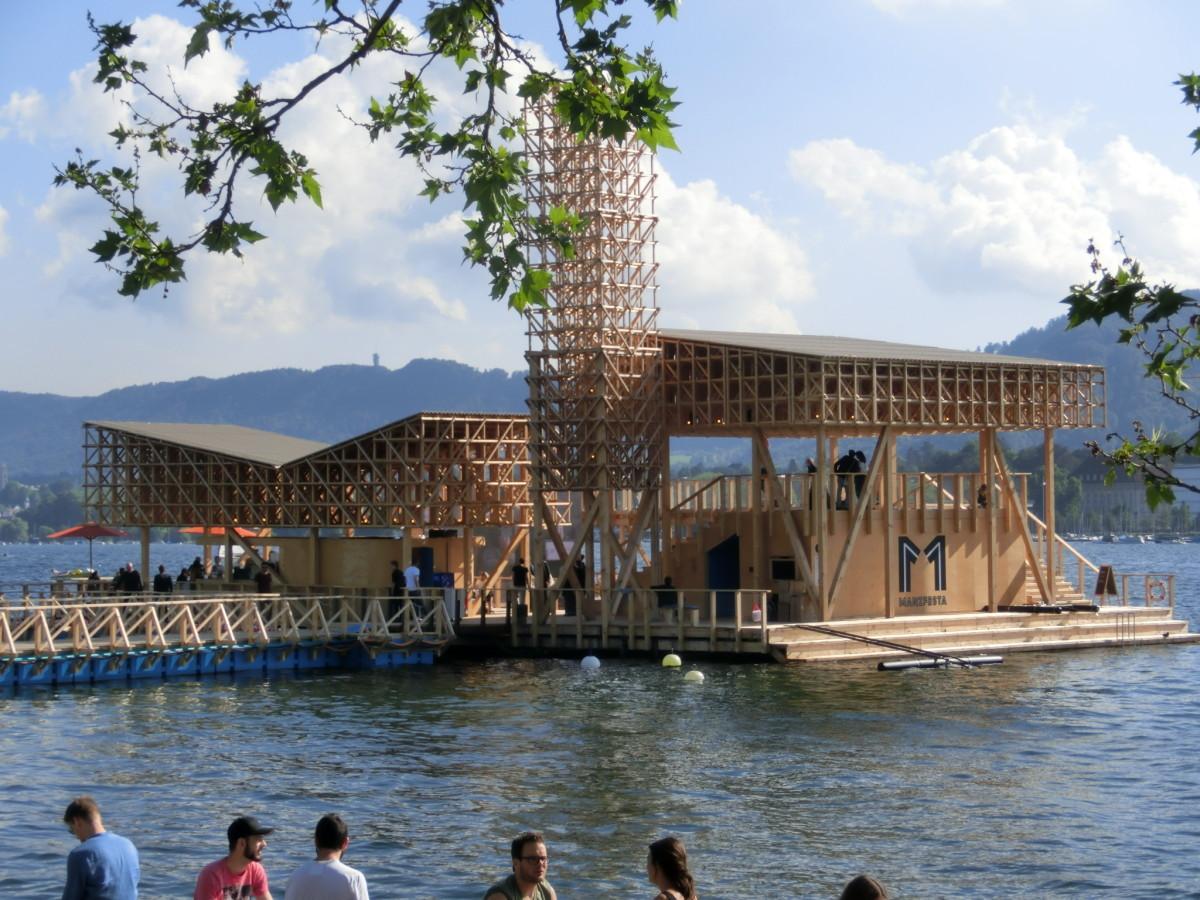 Pavillon of reflections, Zürich // SBV