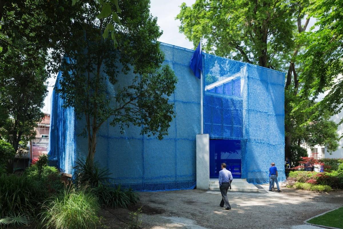 Pavillon Holland, BLUE: Architektur von UN-Friedensmissionen. Foto Iwan Baan